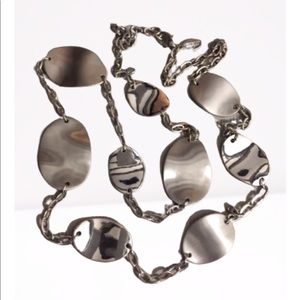 Ann Taylor Factory Silver Tone Necklace